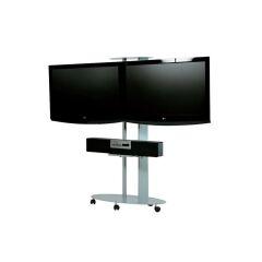 Plasmatech visio 2 écrans, noir