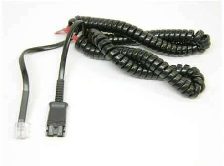 Spare,M15D 10' coiled cord