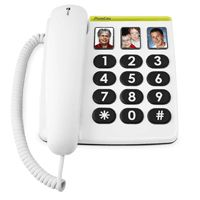 331ph Phone Easy - white. Ce téléphone a été conçu pour que