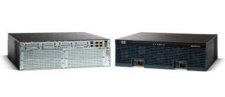 Cisco 3945 with 3 onboard GE, C3900-SPE150/K9, 4 EHWIC slots