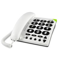Poste filaire Doro Matra 311C Phone Easy. Coloris blanc.