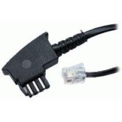 Connexion cable, black (RJ11/RJ11)