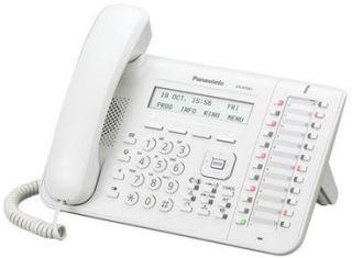 KX-DT543NE Poste numérique Blanc, Afficheur 3 Lignes-LCD, Re