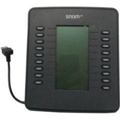 Snom Module extension de touche D7 pour 7xx - Gris anthracit