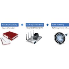Starter kit Hospitality formation, produits & outils marketi