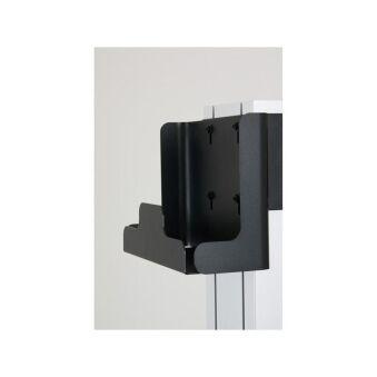 Xpo - Boitier arrière pour Auxiliaire (Codec, player, etc...), noir