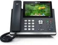 SIP-T48G, Ultra-elegant Gigabit IP Phone