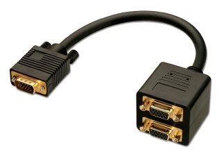 CABLE SPLITTER VGA 2 PORTS