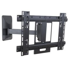 Support with swiveling arm