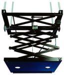 Support noir motorisé avec pantographe, poids de charge 30 k
