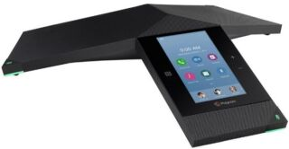 Microsoft Skype for Business/O365/Lync Edition RealPresence Trio 8800 IP conf. phone with Polycom UCS SfB License, built-in Wi-Fi, Bluetooth and NFC. 802.af/at PoE. WITHOUT POWER SUPPLY. Incl. 7.6m/25ft Ethernet cable, 1.8m/6ft USB cable and Setup Sheet
