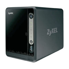 NAS 2DD SATA2 - 1 Gbps RJ45 - 2 USB 3.0 - 1 USB 2.0 - Ventil