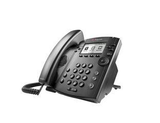 VVX 301 6-line Desktop Phone with HD Voice. Compatible Partn