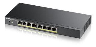 8 ports Gbps RJ45 PoE - 802.3at budget 70 W - Desktop - Sans