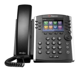 VVX 411 12-line Desktop Phone Gigabit Ethernet with HD Voice. Compatible Partner platforms: 20. POE. Ships without power supply.