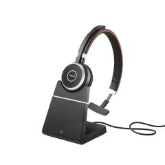 Jabra Evolve 65 MS mono avec socle de recharge