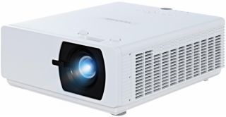 Laser Phosphor system, 5,500 ansi lumens, 10,000:1 contrast, 1.07 Billion Colors?, 1.65x zoom, 3x HDMI, TR1.15-1.9, HV Keystone, HV Lens Shift, 5w x 2 speakers, LAN Control, 3D compatible,SuperColor technology, VGAx1 in, RCA L&R x1, Audio in x1 out x1, HD
